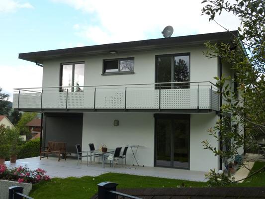 Schlosserei Bodack GmbH Balkongeländer neu